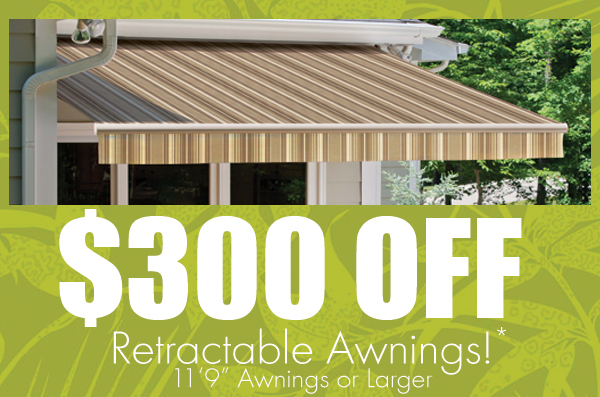 Awnings on Sale through June 2014!