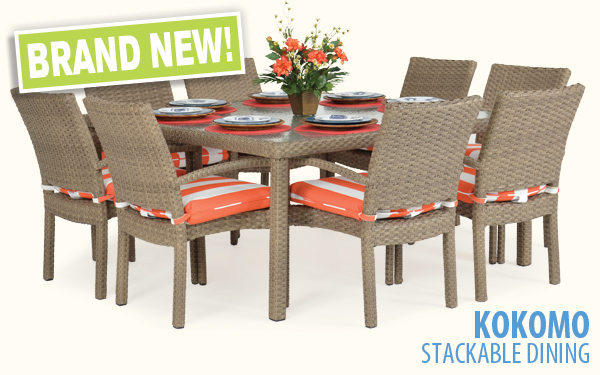 NEW! Kokomo Stackable Dining