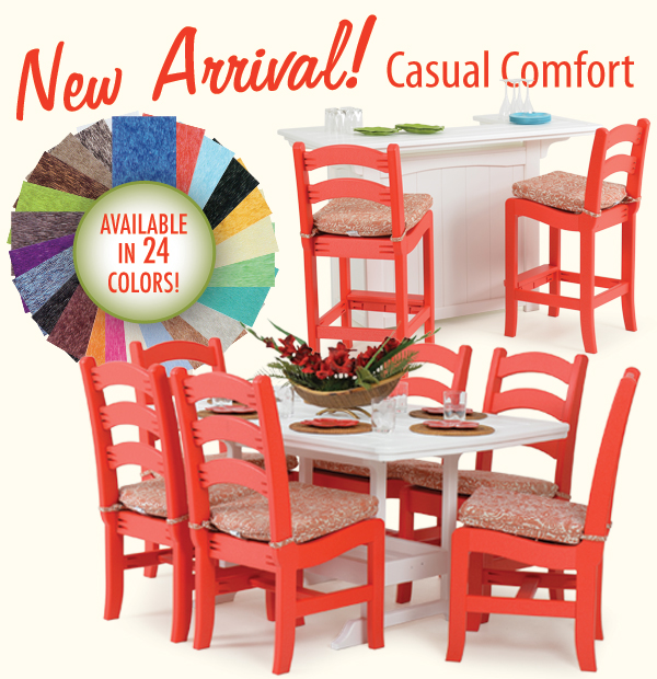 New Arrival! Casual Comfort IN STOCK NOW!
