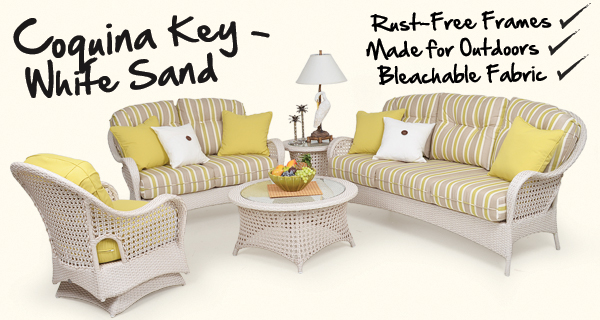 Sunset Inspired Coquina Key Outdoor Seating