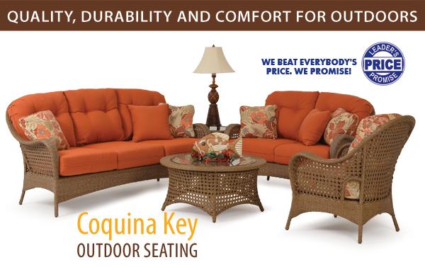 Coquina Key Outdoor Seating