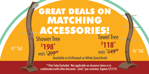 Save On Matching Accessories!