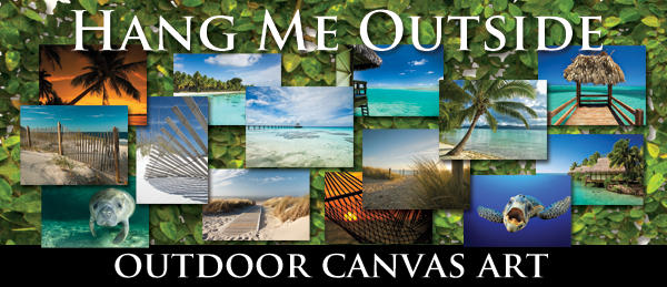 Outdoor Canvas Wall Art