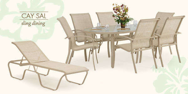 Cay Sal Aluminum Patio Dining