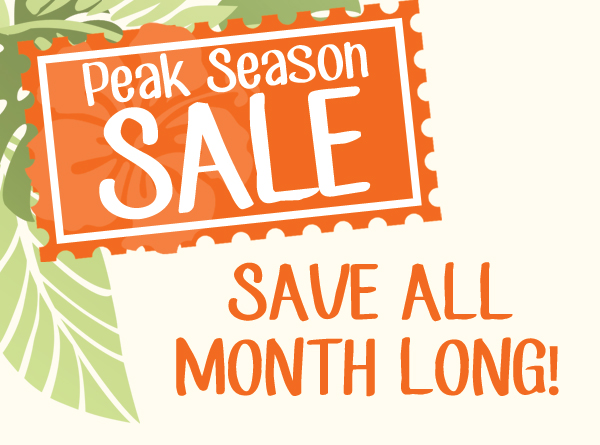 The Peak Season Sale at Leader's