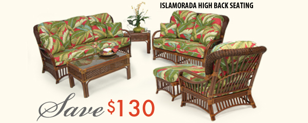 Islamorada High Back Seating