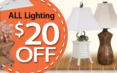 All Lighting $20 Off
