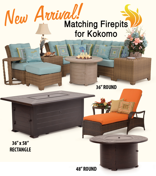Fire Pits to Match Kokomo