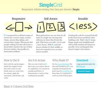 SimpleGrid