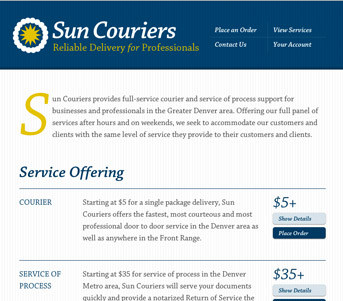 Sun Couriers