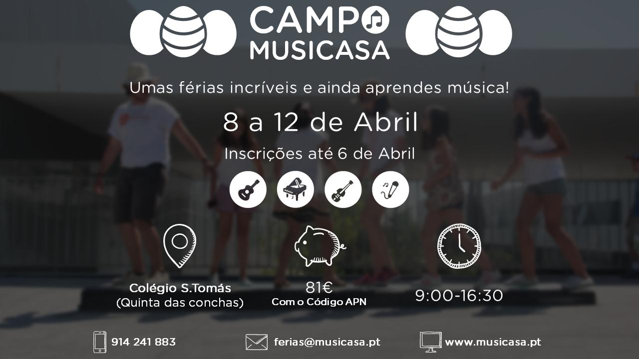 Campo Musicasa da Páscoa
