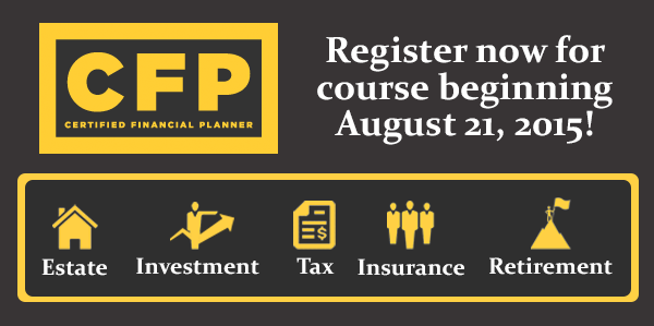 Certified Financial Planner Program