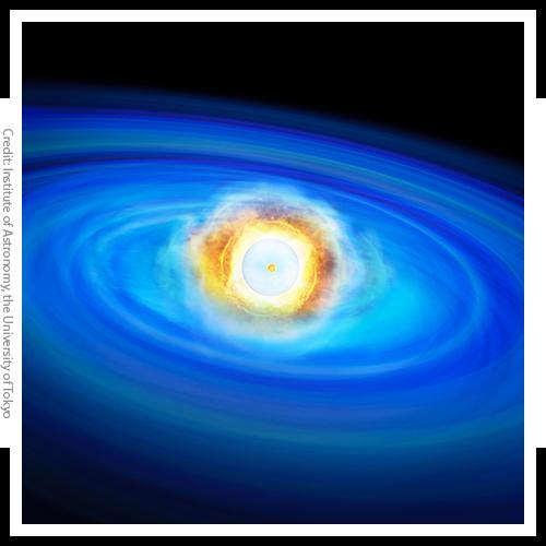 Image of supernova