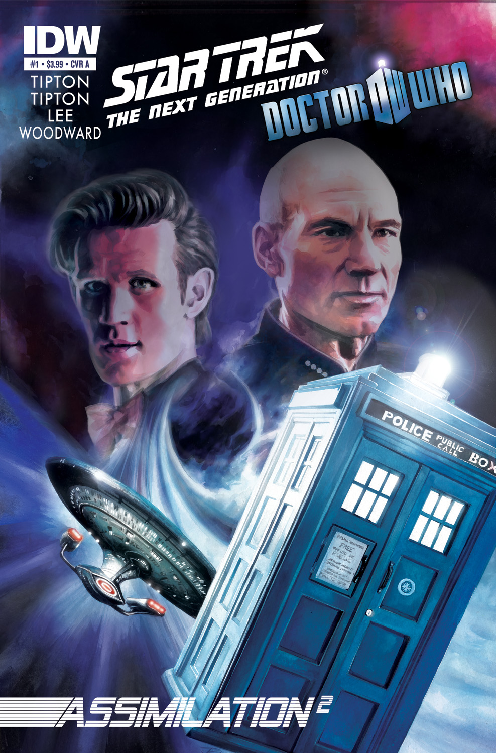 [Doctor Who/Star Trek Crossover Image]