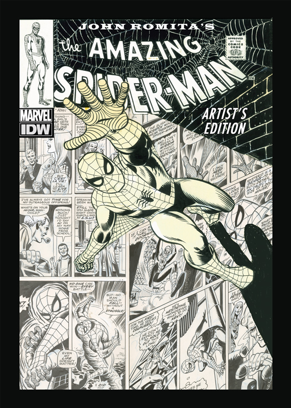 [Spider Man Artist Edition Cover]