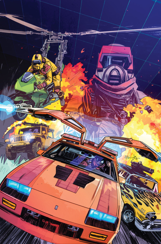 IDW TO PUBLISH M.A.S.K. COMIC BOOK THIS FALL