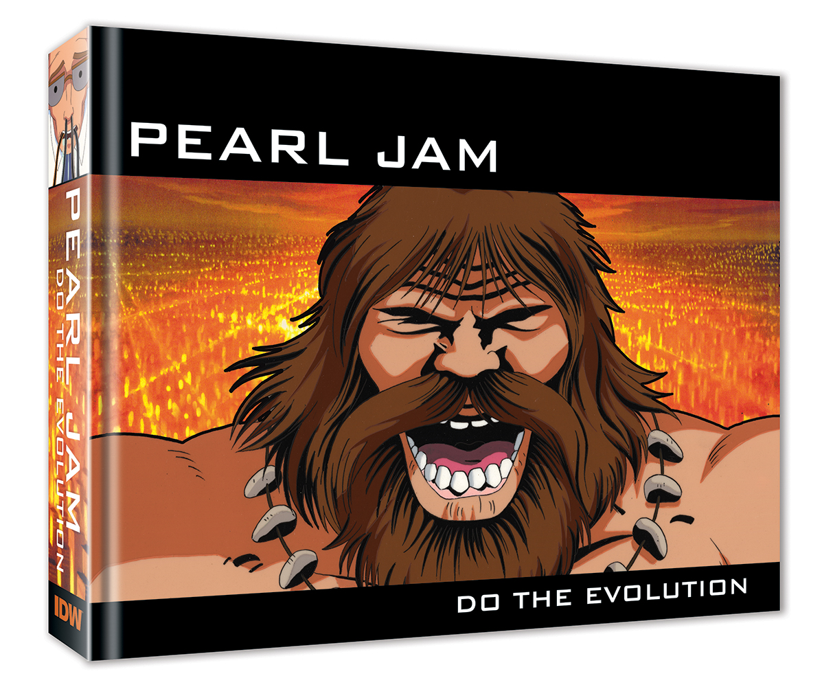 Pearl Jam Music Video Art Book Comes To IDW