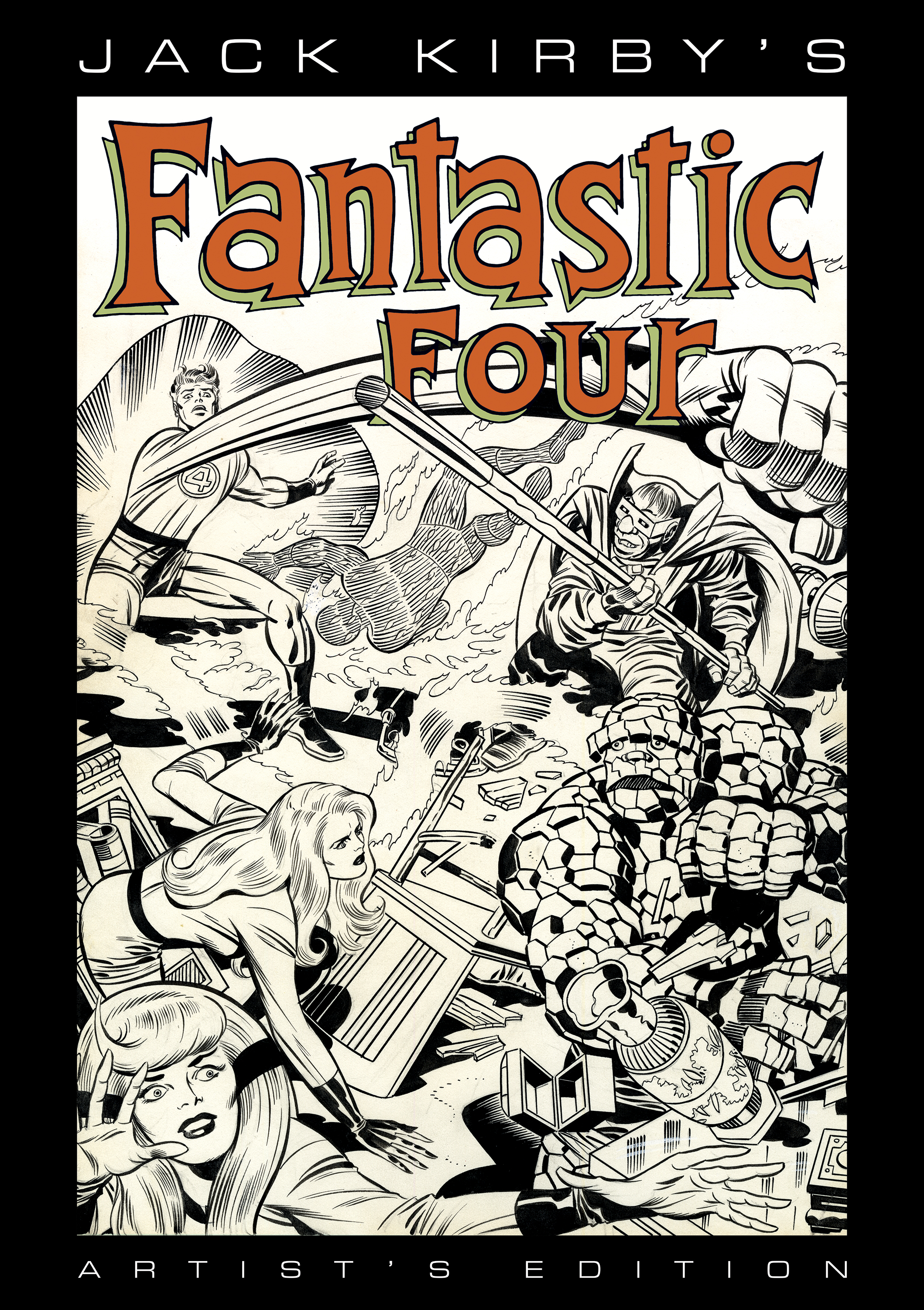 Jack Kirby's Fantastic Four Artist's Edition Coming from IDW!