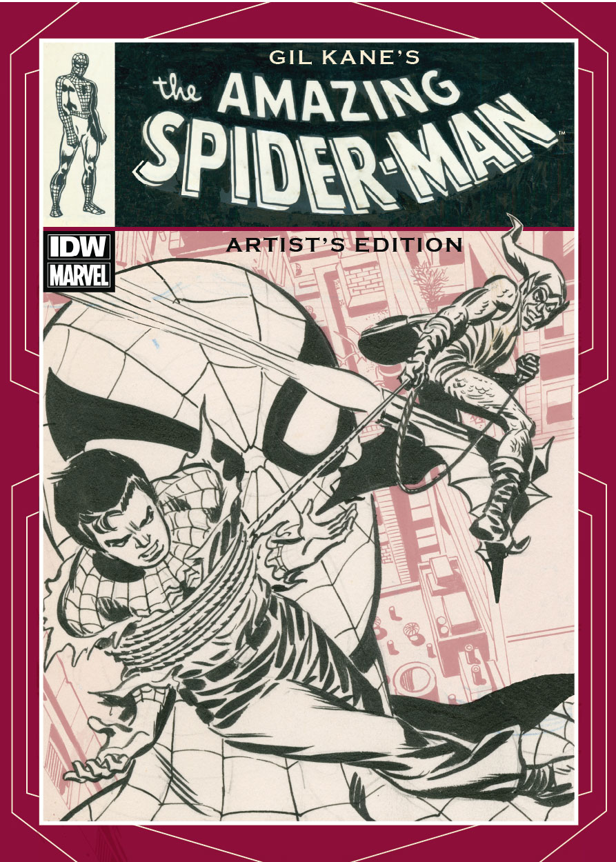 Press Release: Gil Kane's The Amazing Spider-Man Artist's Edition Coming in November Cover Image