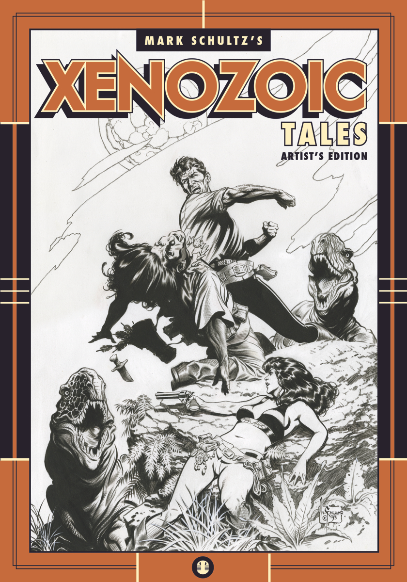 Press Release: Mark Schultz's Xenozoic Tales to be Collected in Artist's Edition Format Cover Image