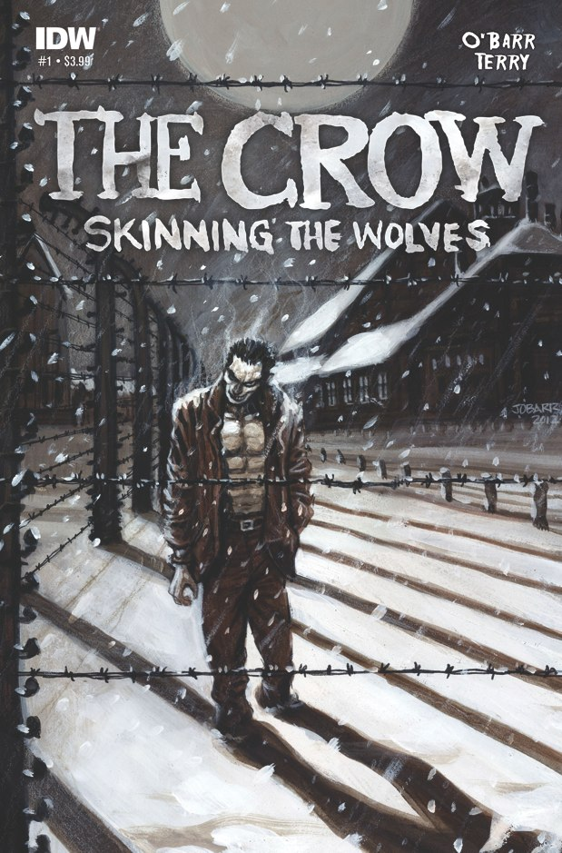 [The Crow Skinning the Wolves Cover]