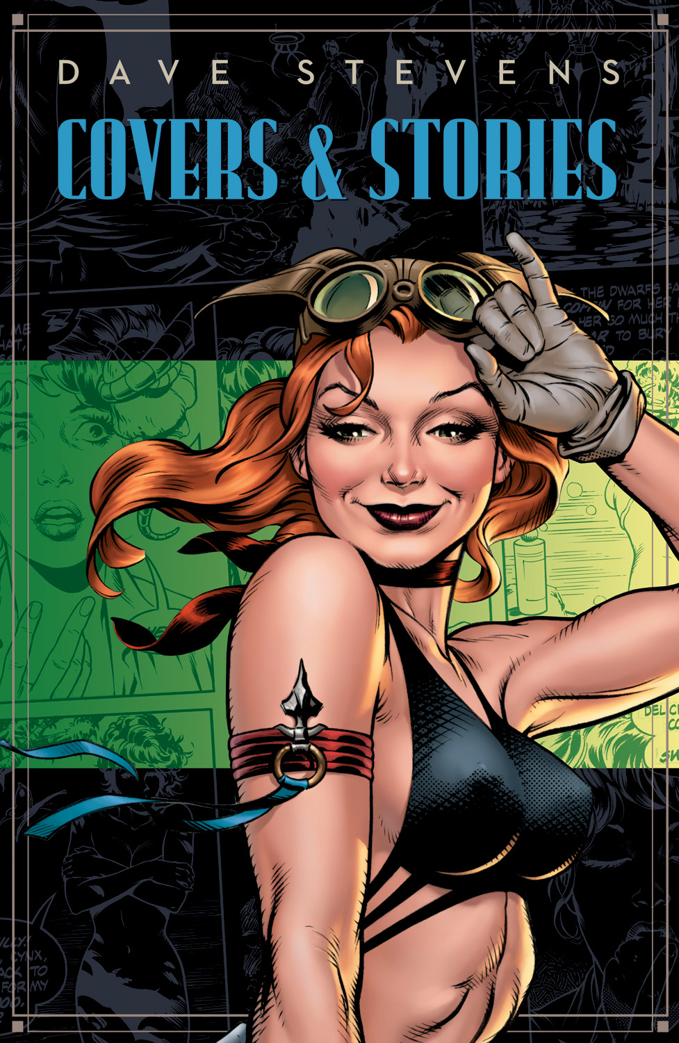 [Dave Stevens Covers & Stories Cover Image]