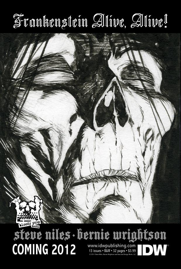 [Frankenstein Alive, Alive Cover]