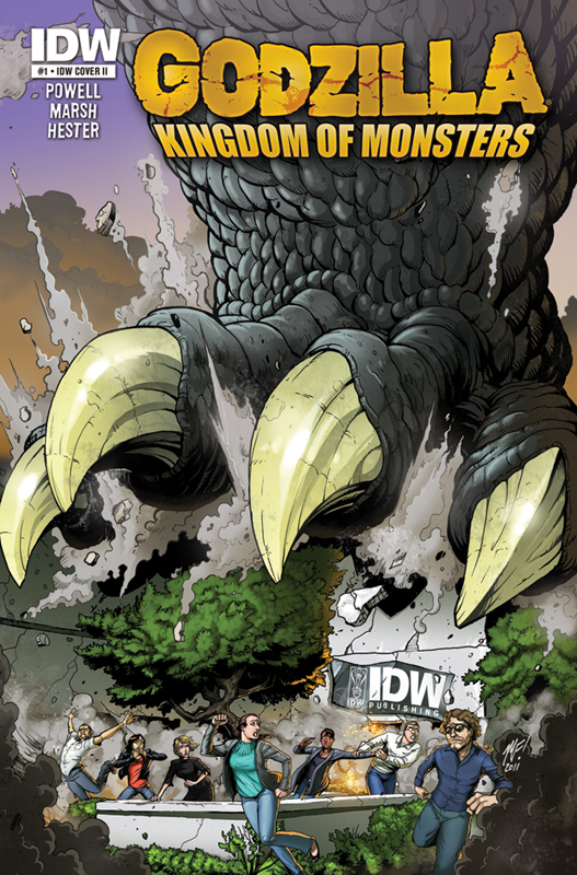 [Godzilla Kingdom of Monsters Cover 1]