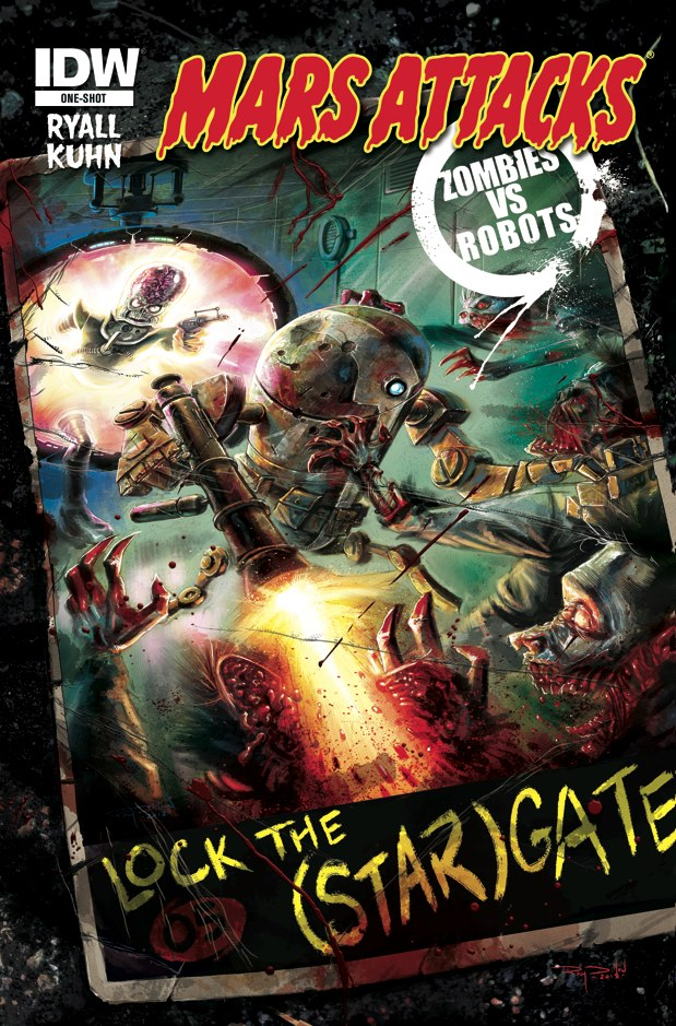 [Mars Attacks Zombies vs Robots Image]