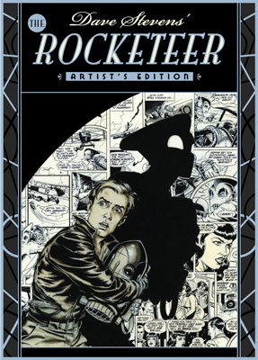 [Rocketeer Artists Edition cover]