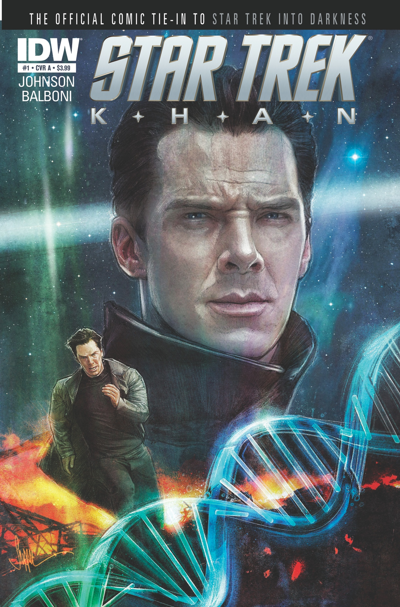 STARTREK2 Khan01 CovA Learn Khan's Origin in The Upcoming Star Trek: Khan Miniseries From IDW