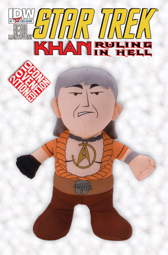 Star Trek: Khan Ruling in Hell #1 NYCC cover