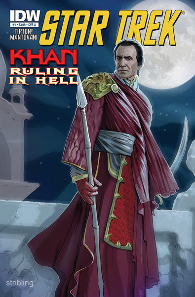 [Star Trek: Khan: Ruling in Hell 31 cover A]