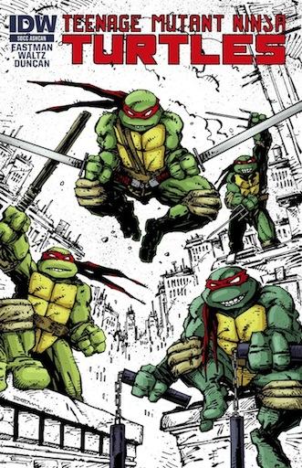[Teenage Mutant Ninja Turtles Cover]