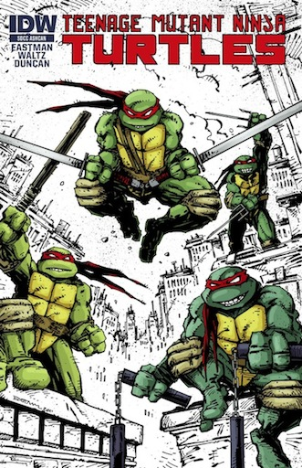 [Teenage Mutant Ninja Turtles Cover]