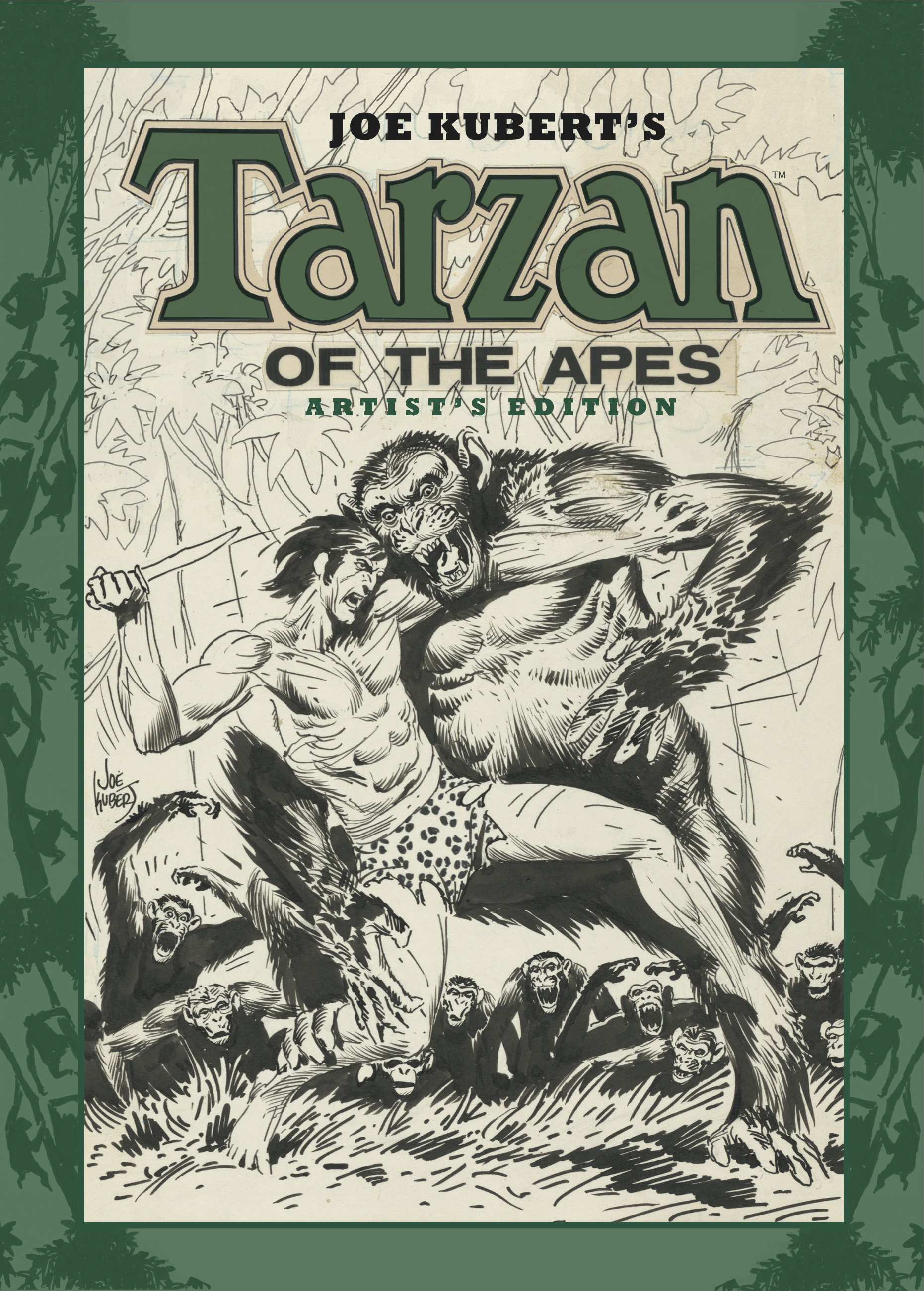 [Tarzan Artist Edition Cover]