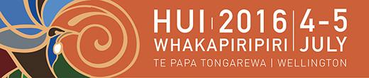 Hui Whakapiripiri 2016 logo