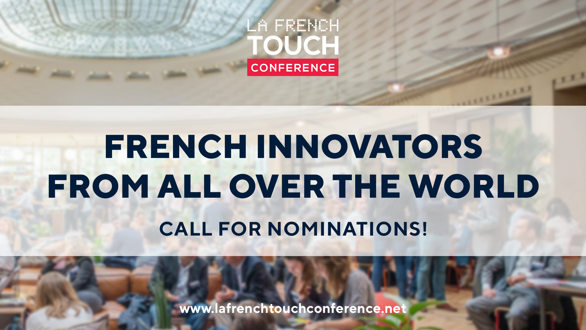 "Call for nominations ""French innovators from all over the world"""