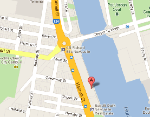 Newcastle Cruising Yacht Club location map - click for map and directions