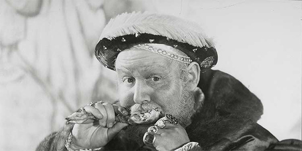 Charles Laughton in The Private Life of Henry VIII, 1933