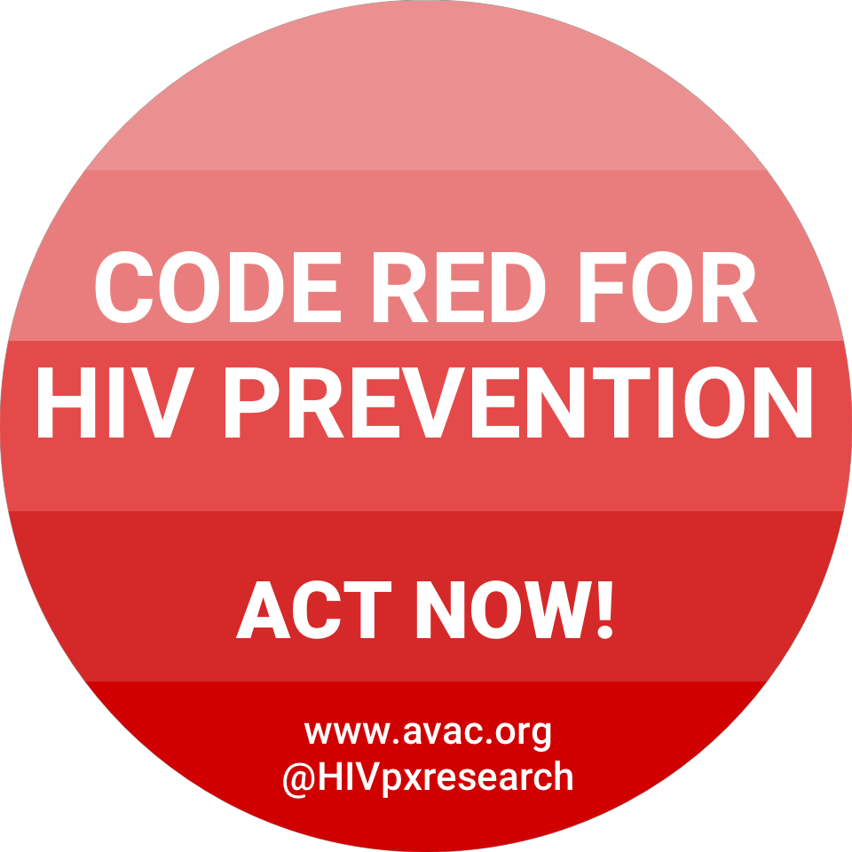 code red for HIV prevention sticker image