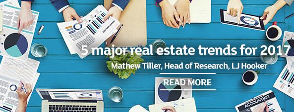 5 major real estate trends for 2017