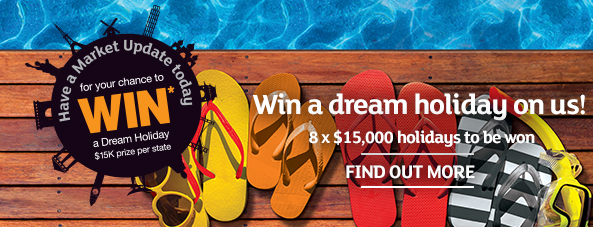 Win a dream holiday on us