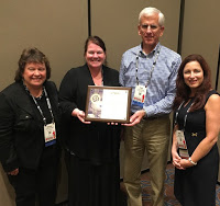 SPJ accepts National SPJ award for Small Chapter of the Year