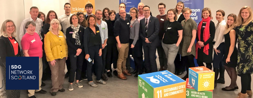 SDG Network's workshop with UK and Scottish Governments