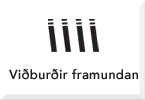 Viðburðir framundan