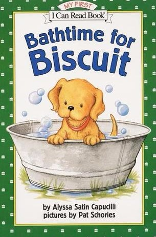 """Cover of """"Bathtime for Biscuit"""" book"""