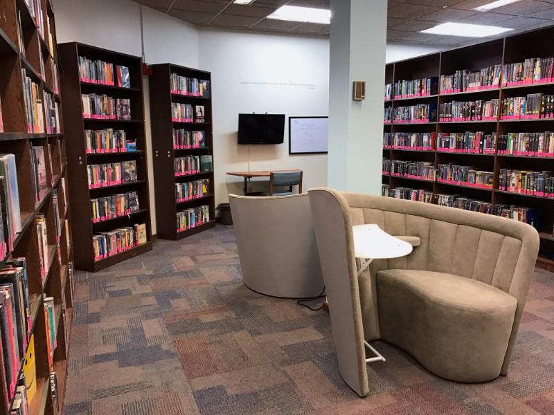 Jefferson Public Library's new YA space