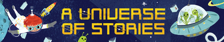 Logo for A Universe of Stories