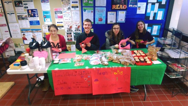 Teen bake sale at Watertown Public Library
